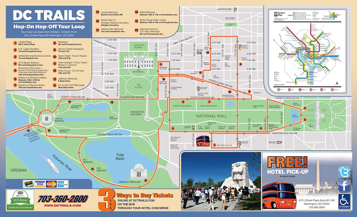 Hop-On, Hop-Off Bus Tours in Washington, DC | Double Decker Bus Tours